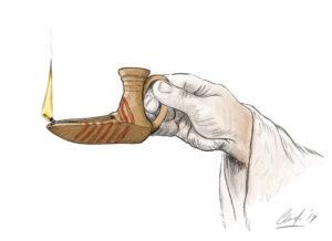 Lámpara islámica | IDU Ilustración
