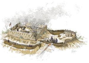 Fortín carlista (Navarra) | IDU Ilustración