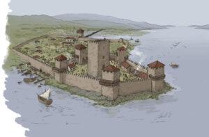 Catoira (Galicia) en época medieval | IDU Ilustración