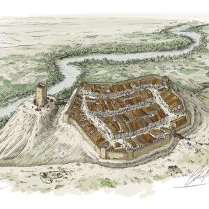 Mélida (Navarra) en época medieval | IDU Ilustración
