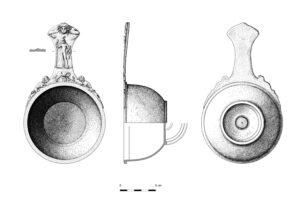 Trulla o cazo ritual romano | IDU Ilustración