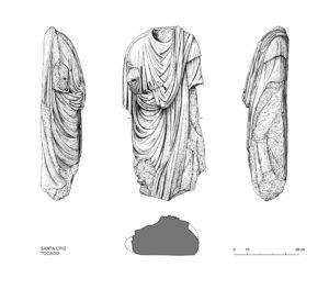 Togado romano | IDU Ilustración