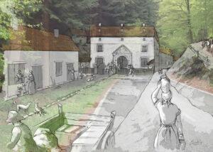 Real Fábrica de Municiones de Eugi (Navarra) | IDU Ilustración