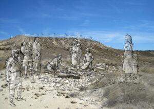 Ritual funerario prehistórico | IDU Ilustración