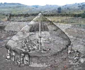 Poblado Astur de Peña del castro (León) | IDU Ilustración