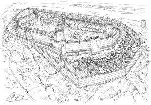 Castell Vel | IDU Ilustración