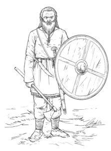 Vikingo | IDU Ilustración