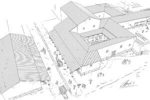 Villa romana | IDU Ilustración