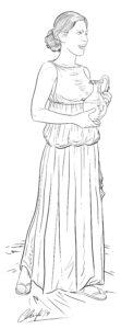 Sirviente romana | IDU Ilustración