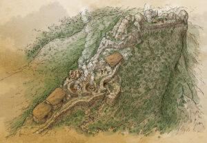 Santuario canario de Tirajana (Gran Canaria) | IDU Ilustración
