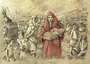 Refugiados de la batalla de Baécula (Jaén) 2ª Guerra Púnica| IDU Ilustración