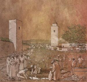Maqbara islámica medieval de Ciutadella (Menorca) | IDU Ilustración