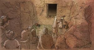 Rito de enterramiento postalayótico (Menorca) | IDU Ilustración