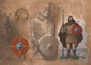 Guerrero Galaico - IDU Ilustración